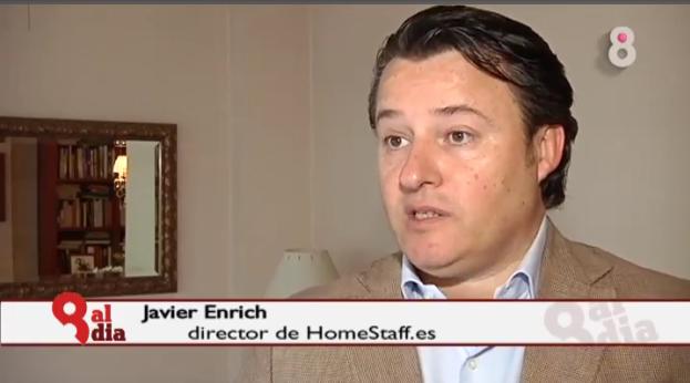 entrevista home staff sobre servicio doméstico y nueva ley empleadas hogar 2012