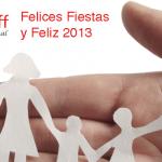 Todo el equipo de Home Staff le desea Felices Fiestas y Prospero Año 2013