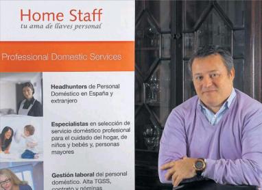 Entrevista Javier Enrich - Home Staff servicio doméstico #empleadahogar prensa clipping
