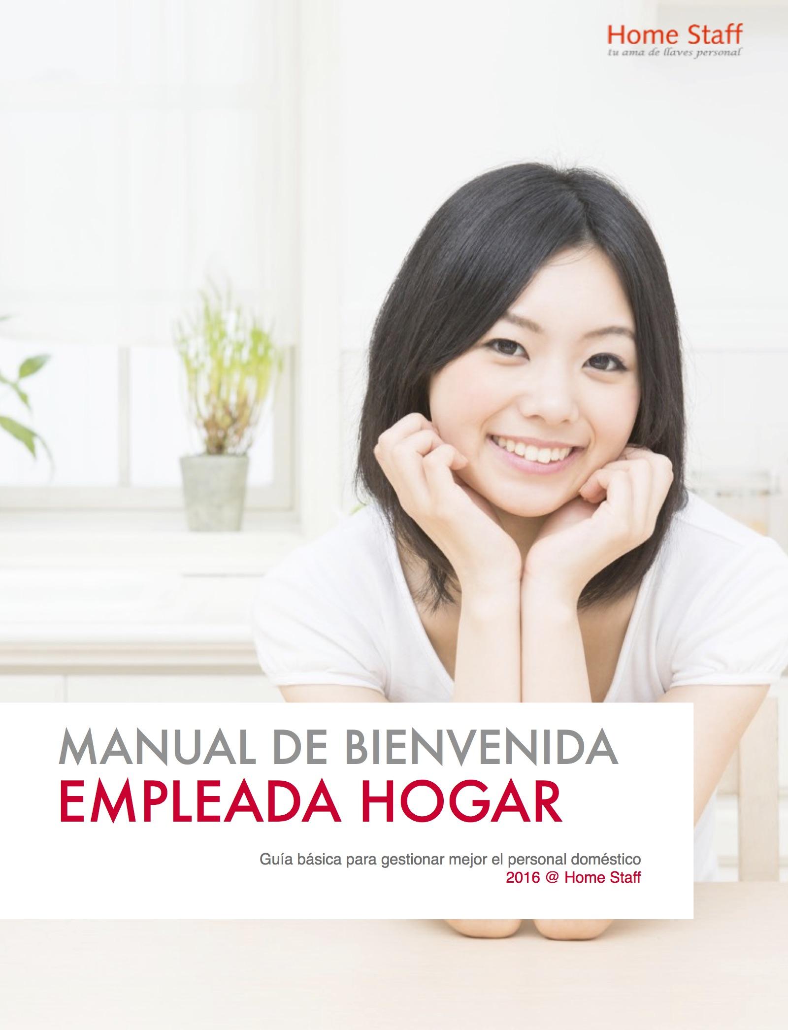 manual bienvenida empleadas hogar