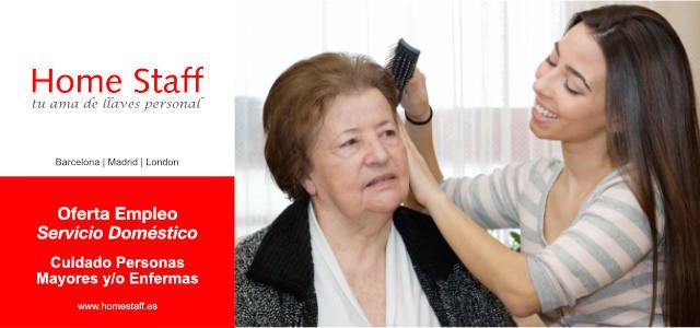 Empleo empleada hogar barcelona interna cuidado personas for Trabajo de interna en barcelona