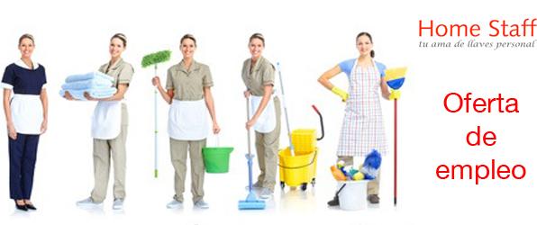 Trabajo Empleado/a de hogar Fija SUPLENCIA VERANO – Barcelona