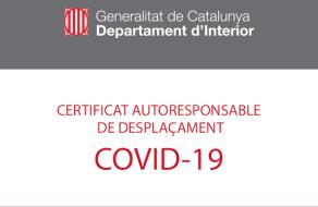 CERTIFICADO AUTORRESPONSABLE DE DESPLAZAMIENTO COVID19
