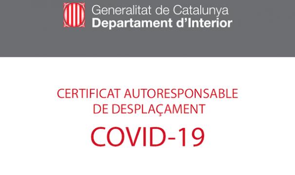 DESCARGA CERTIFICADO AUTORRESPONSABLE GENCAT – COVID19