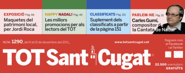 La publicación TOT Sant Cugat presenta Home Staff