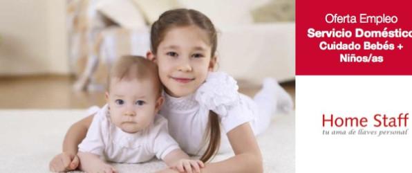 Empleo Servicio Domestico Cuidado Bebés y Niños y niñas