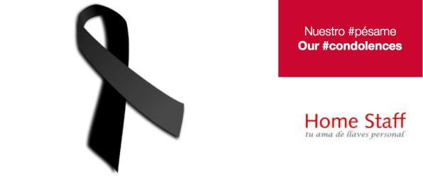 Luto Home Staff, pésame, condolences